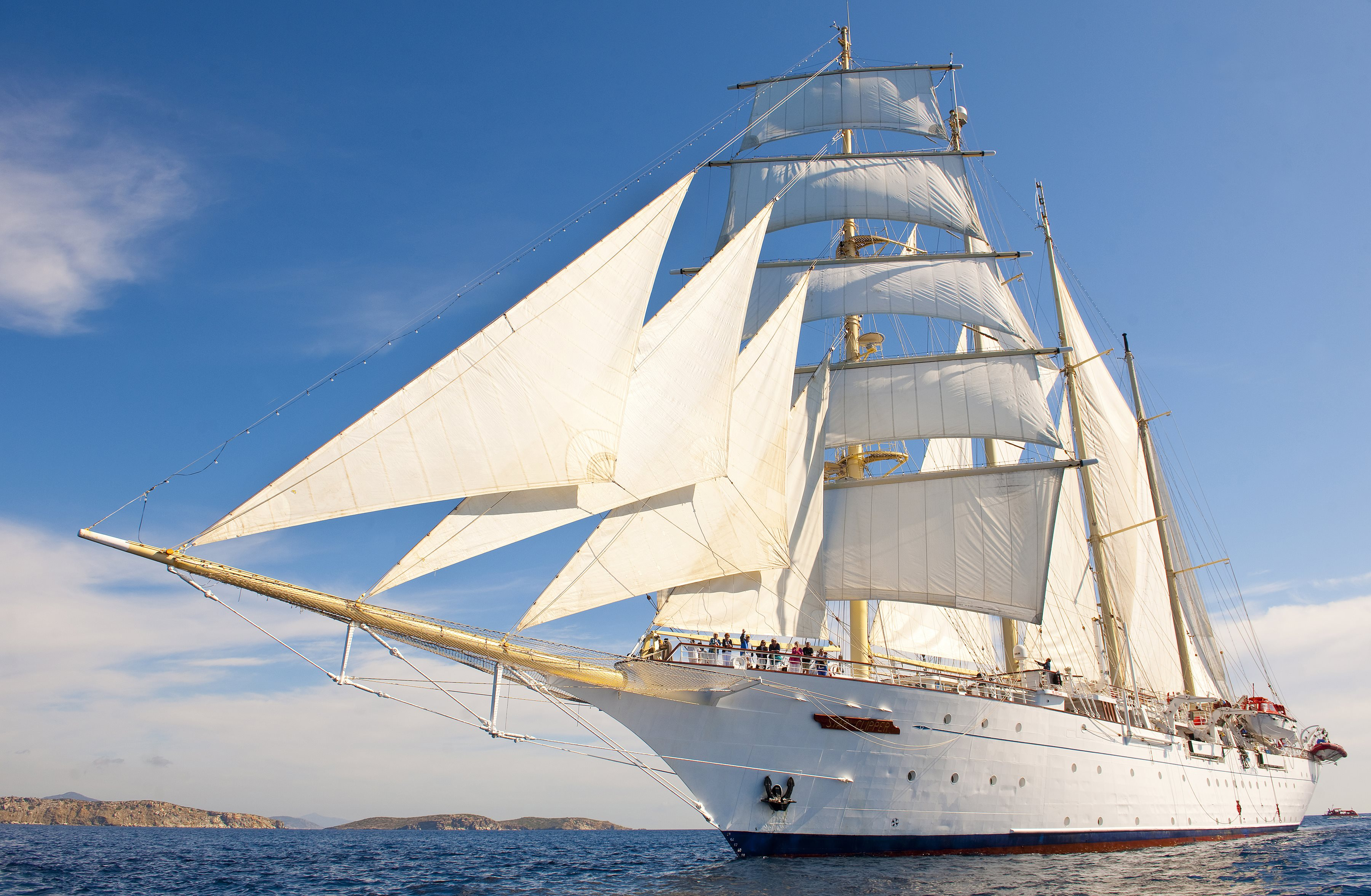 Star Clippers Sailing Southern Cycladesimage