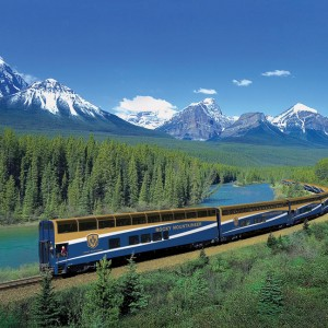 WESTERN EXPLORER WITH ROCKY MOUNTAINEER
