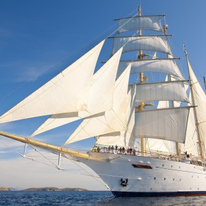 Star Clippers Sailing Southern Cyclades