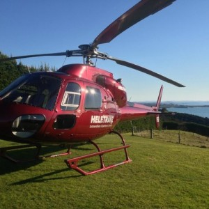 Waiheke Heli-Dining with Helzetranz