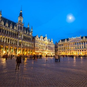 Brussels with THAI