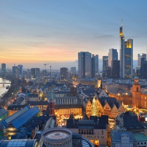 Frankfurt with Qantas
