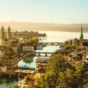 Zurich with Thai Airways