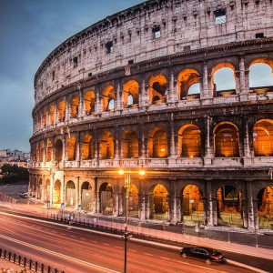 Rome with Qatar Airways