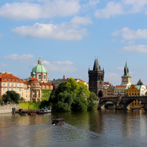 Prague with Korean Airlines
