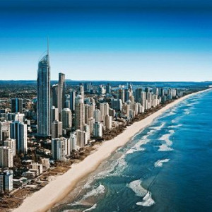 Air New Zealand to Gold Coast (to/from Brisbane)