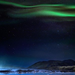 Northern Lights - The Blue Lagoon