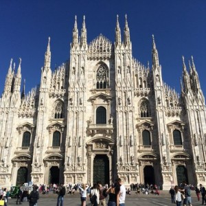 Milan with Cathay Pacific