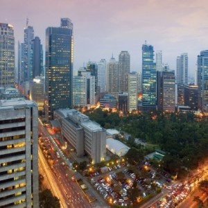 Manila with Cathay Pacific