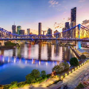Brisbane with China Airlines