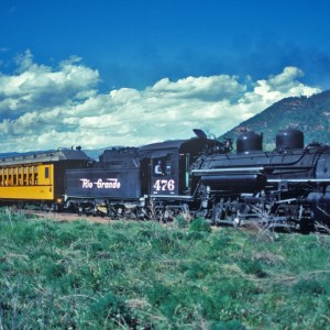 Historic Trains Of The Old West