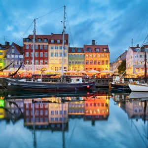 Copenhagen with Singapore Airlines