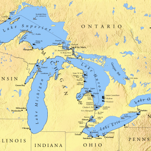 Great Lakes of North America Cruise