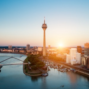 Düsseldorf with Air New Zealand
