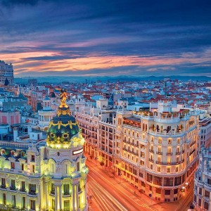 Madrid with Air New Zealand