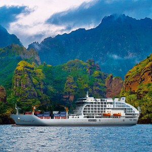 Pitcairn Discovery Cruise ex Papeete
