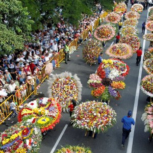 Colombia & the Medellin Flower Festival