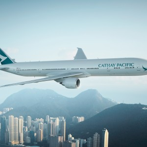Manchester with Cathay Pacific