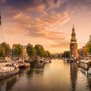 Amsterdam with Korean Airlines