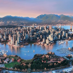 Vancouver with Air China