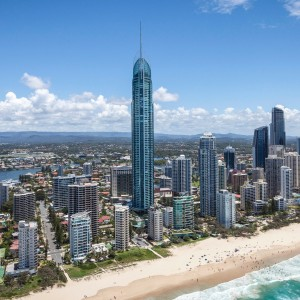 Gold Coast with Air New Zealand
