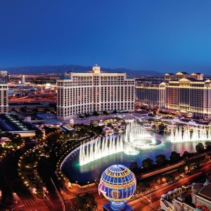 Las Vegas with Air New Zealand