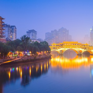 Chengdu with Sichuan Airlines