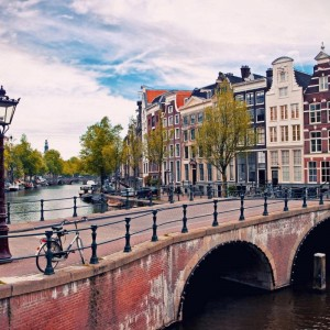 Amsterdam with Emirates