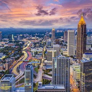 Atlanta with Delta Airlines