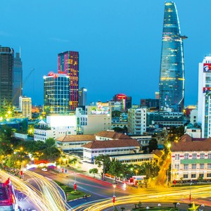Ho Chi Minh with Air New Zealand
