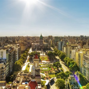 Buenos Aires with LATAM