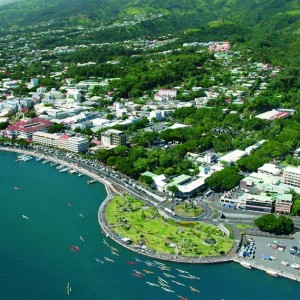 Papeete with Air New Zealand