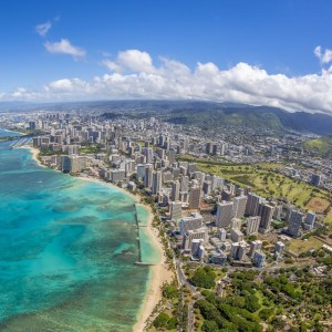 Honolulu with Air New Zealand