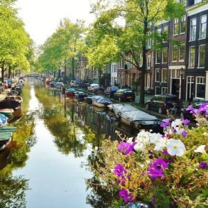 Amsterdam with Cathay Pacific