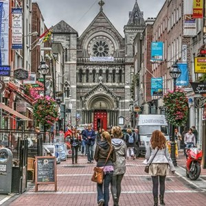 Dublin with Cathay Pacific