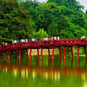 Hanoi with Cathay Pacific