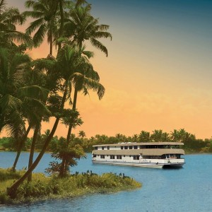 Luxury on the Backwaters of Kerala