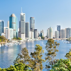Brisbane with Qantas - Business Class