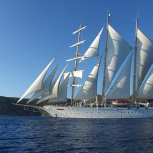 Star Clippers Sailing: Southern Cyclades